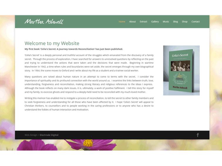 Martha Ashwell Web Design