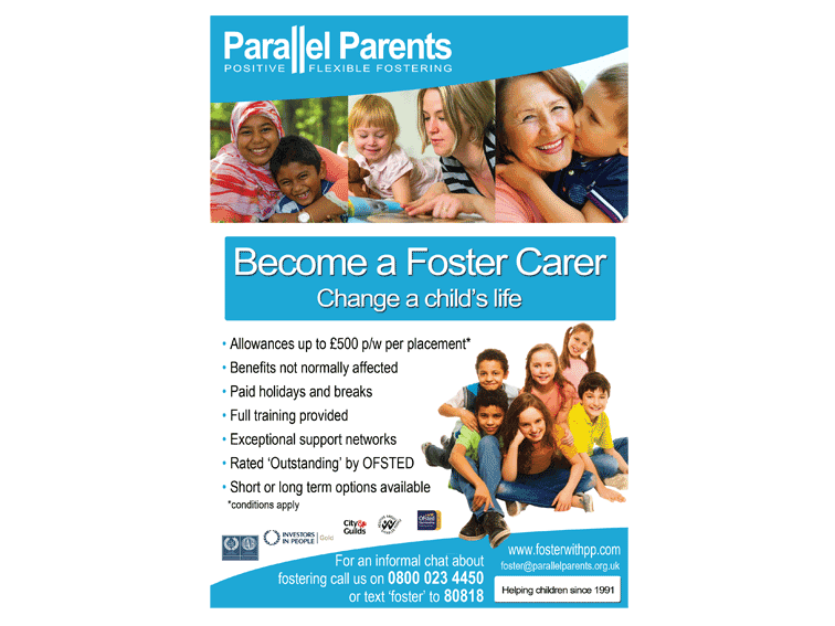 Parallel Parents Poster Design