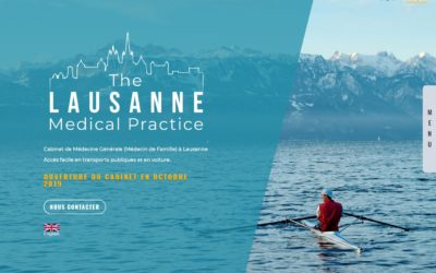 The Lausanne Medical Practice Web Design