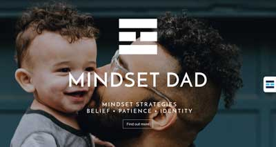 Mindset Dad Web Design