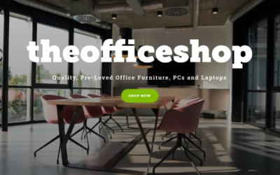 The Office Shop Web Design