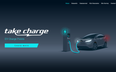 Take Charge EV Charging Website