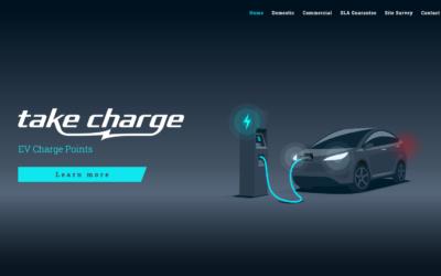 Take Charge EV Charging Website